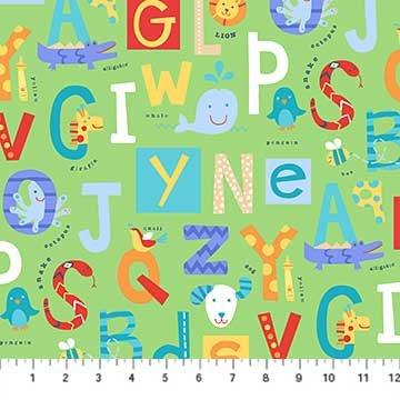 Alphabet Soup Flannel