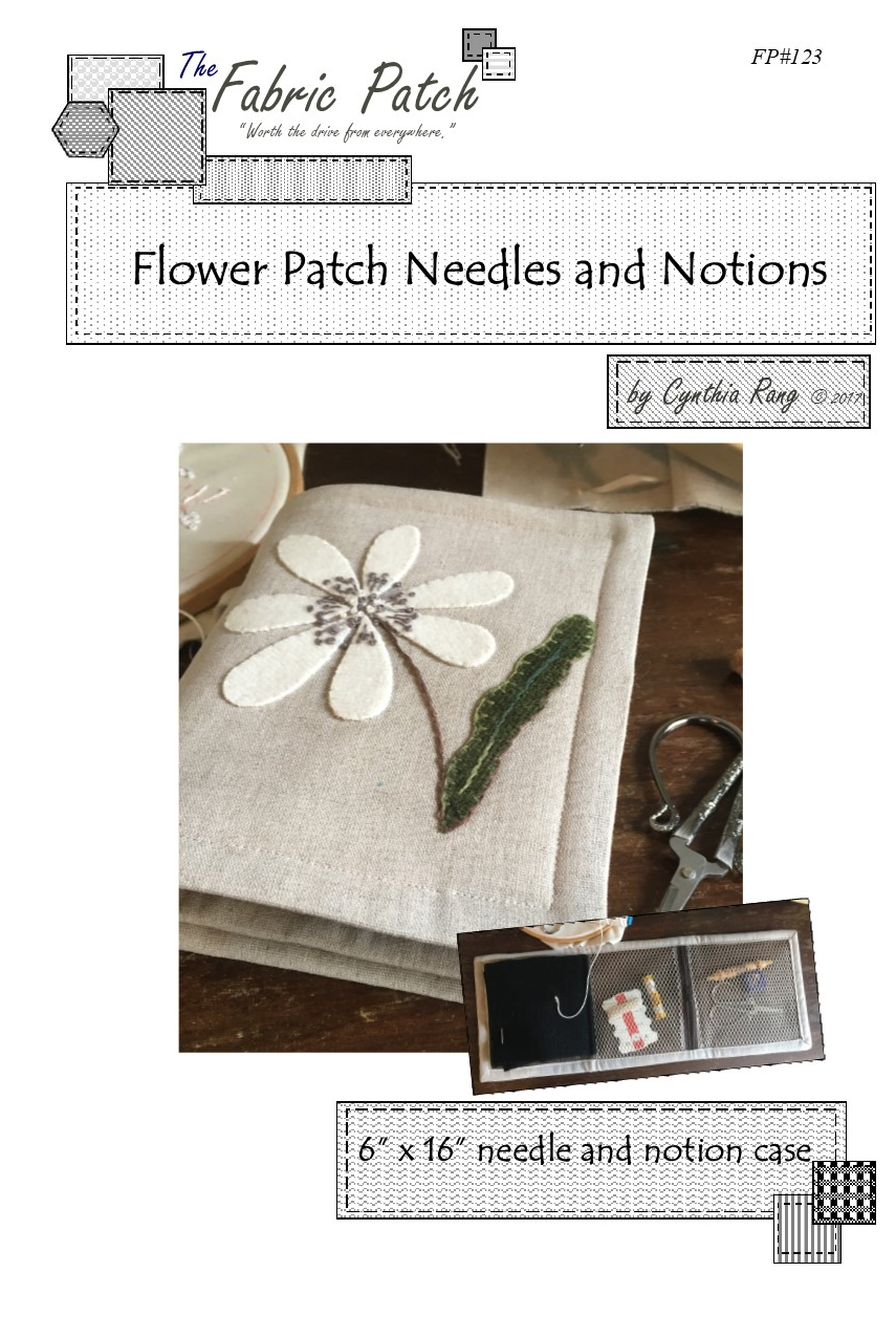 Flower Patch Needles and Notions Downloadable Pattern