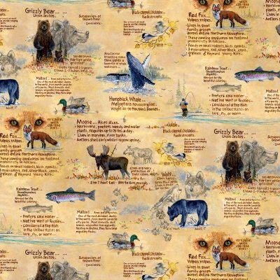 Field Notes wilderness animals and facts