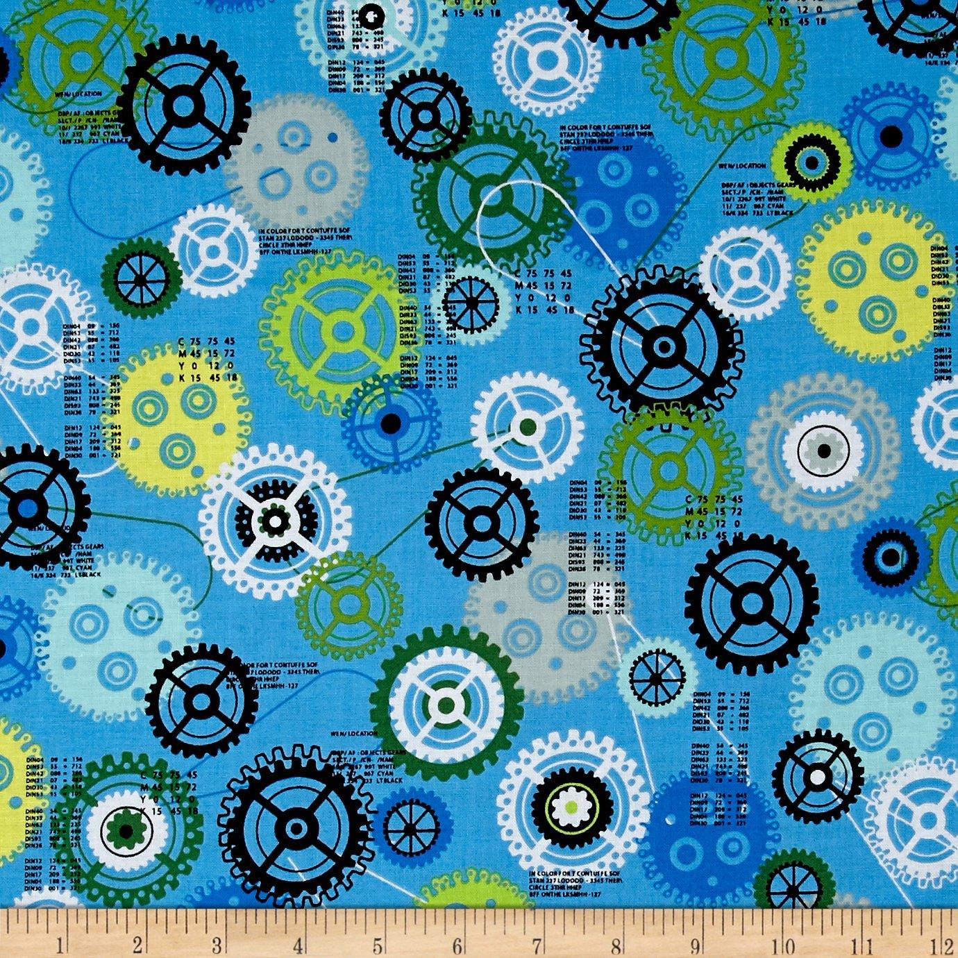 Ibot - blue gears
