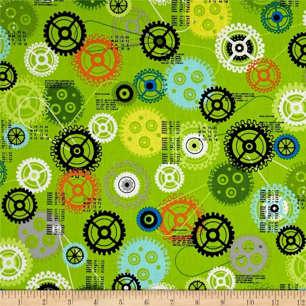 IBot - Green gears