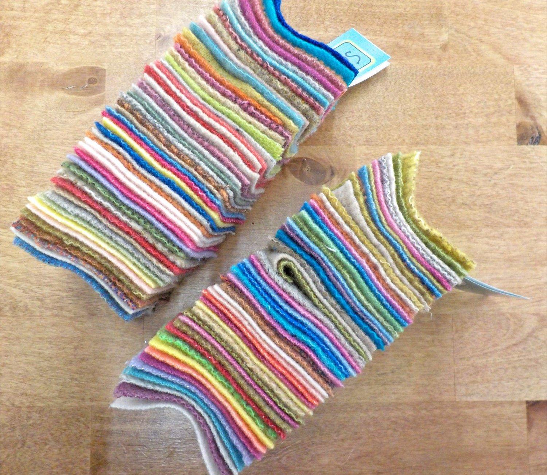 Smidgens -50 mixed 2.5inch squares in 3 colorways