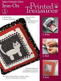Iron-on Printable FabricPrinted Treasures