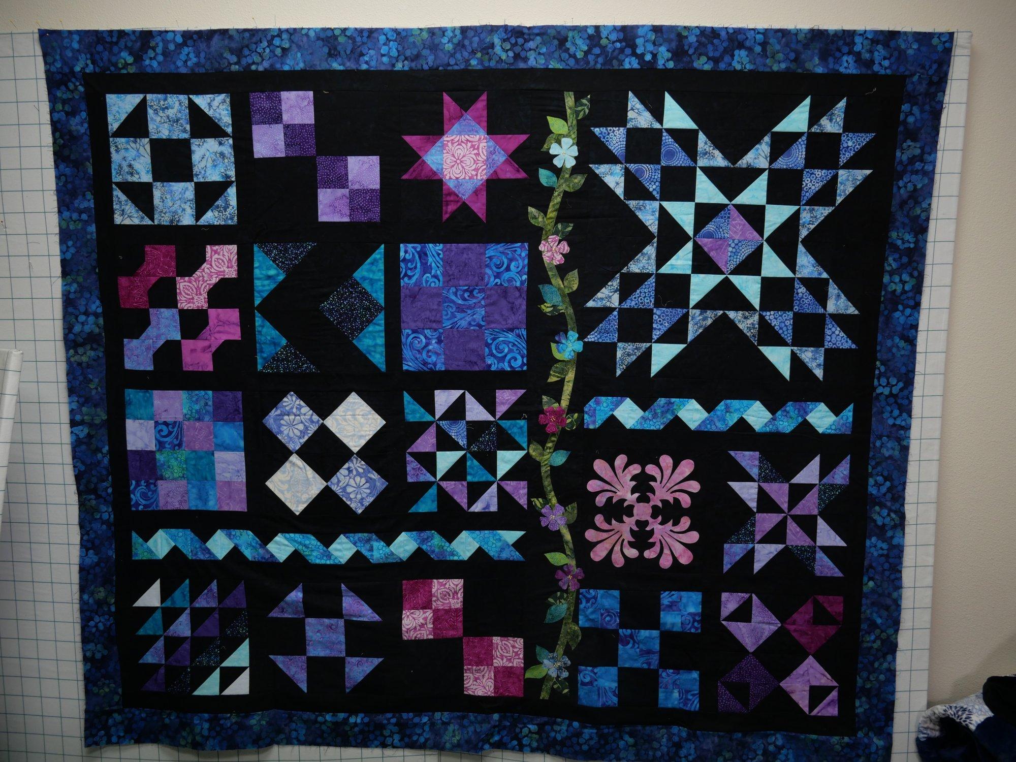 Progressive Quiltfull color pattern