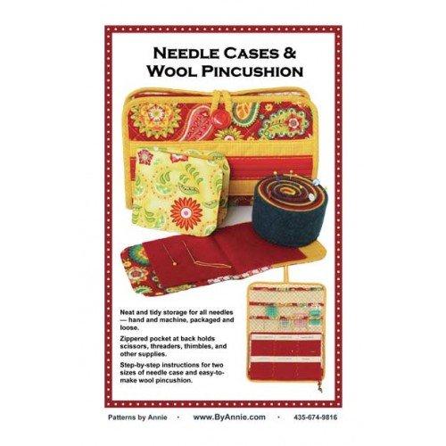 NEEDLE CASE & WOOL PINCUSHION ByAnnie