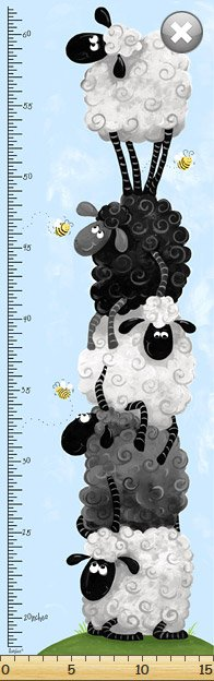 Lewe the Sheep Growth Chart