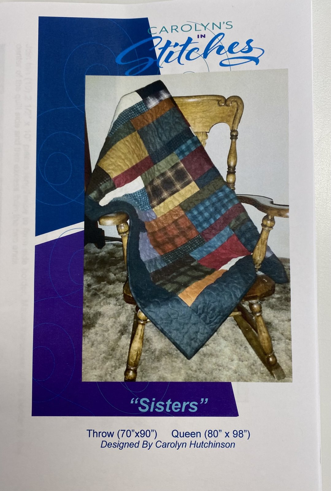 Sisters Pattern Throw - Queen