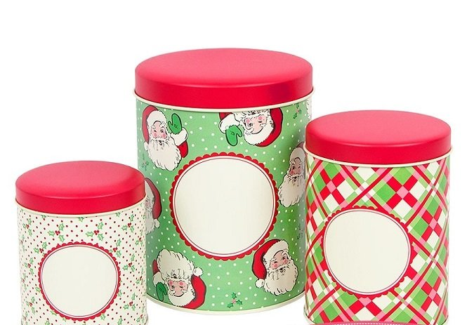 Swell Christmas Tins