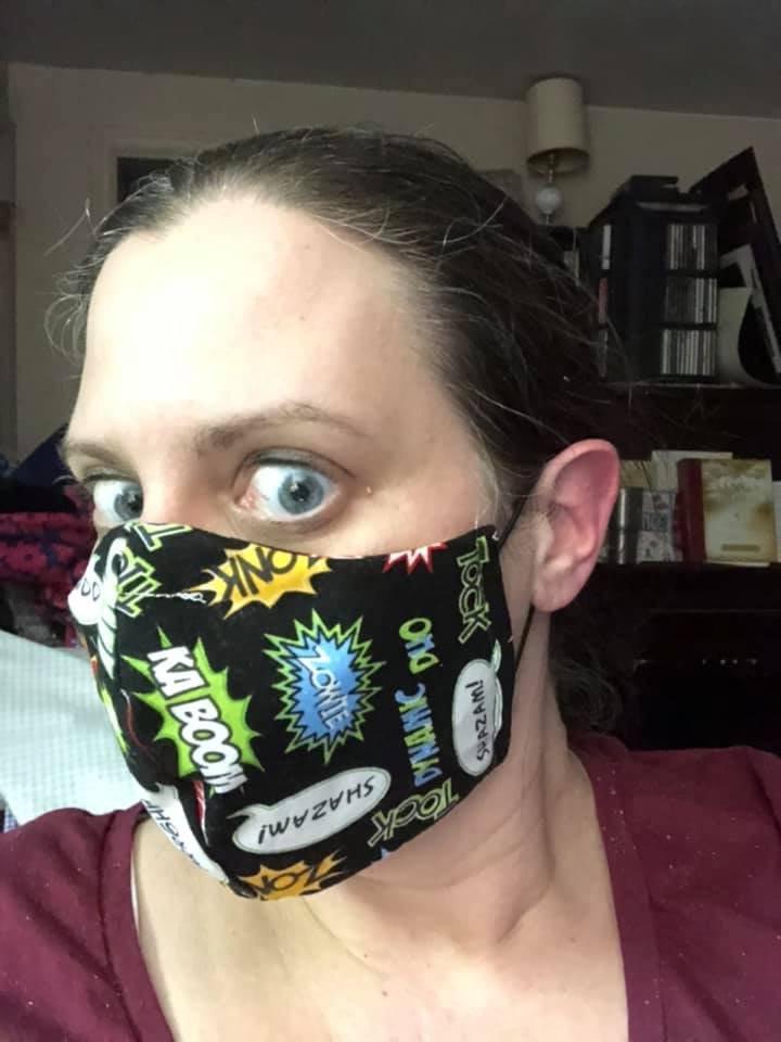 Face Mask notion kit - elastic