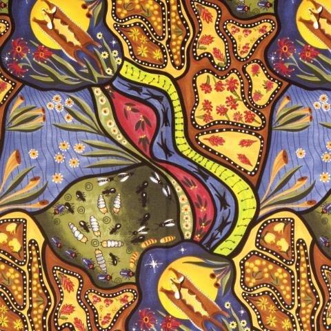 BAMBILLAH WIDE 58 Aboriginal Fabric