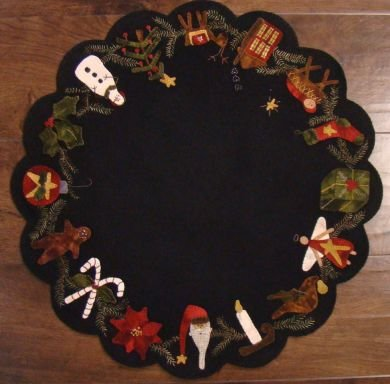 Christmas Time Table Mat Kit and Pattern
