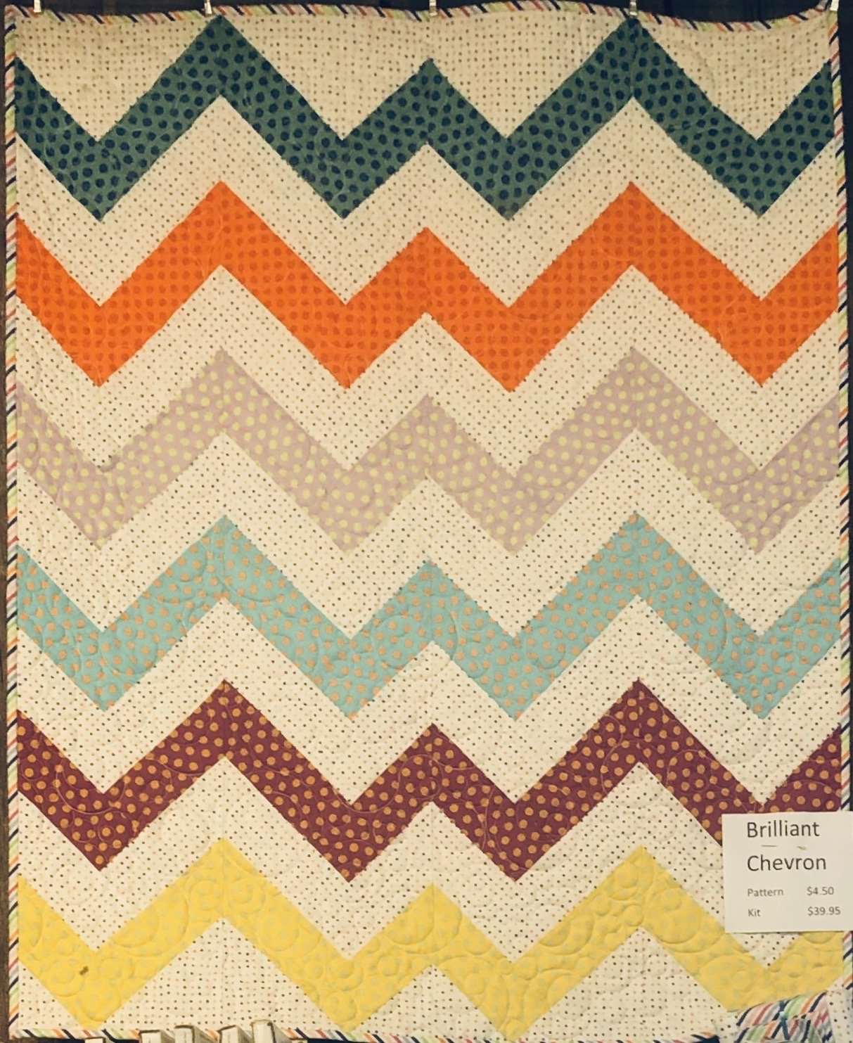 Brilliant Chevron (PATTERN NOT INCLUDED)