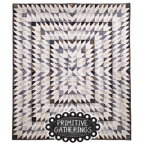 Farmhouse Gathering Quilt Kit (Background not included