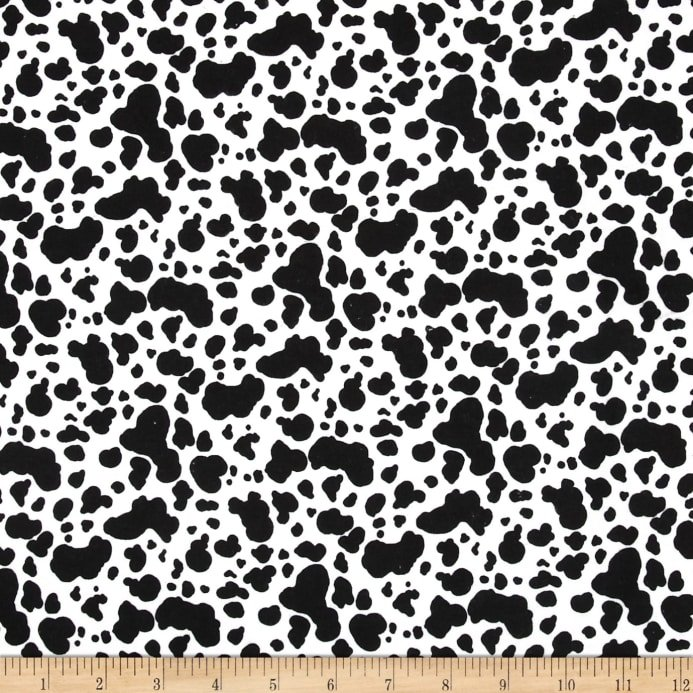 Flannel COW PRINT