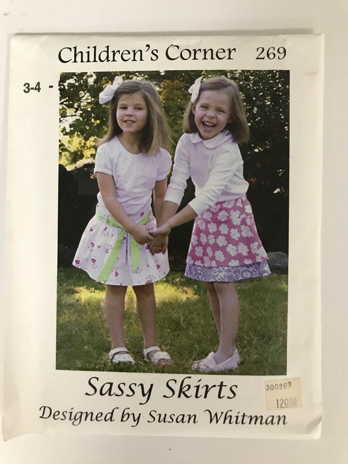 CHILDREN'S CORNER SASSY SKIRT