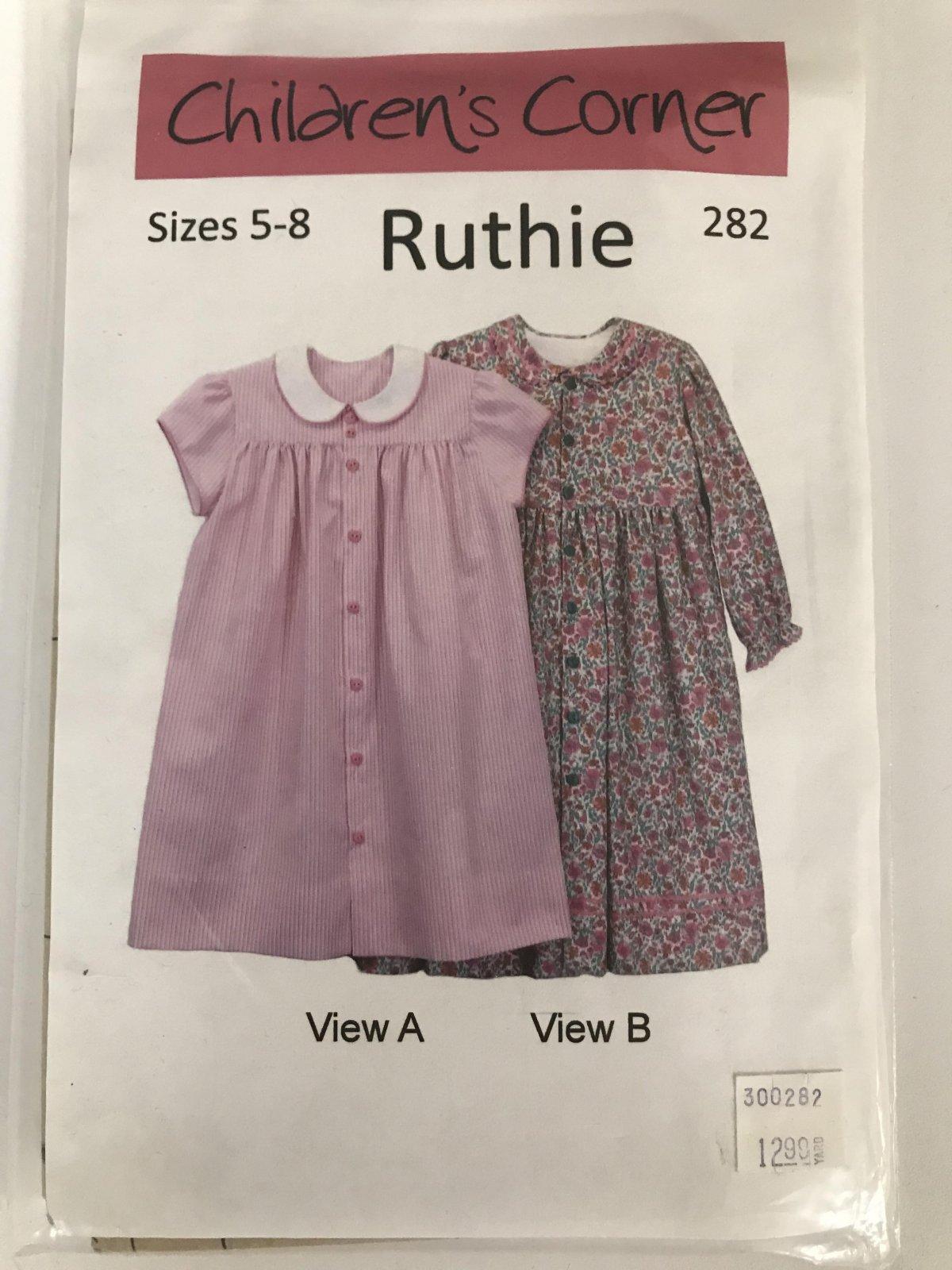 CHILDREN'S CORNER RUTHIE