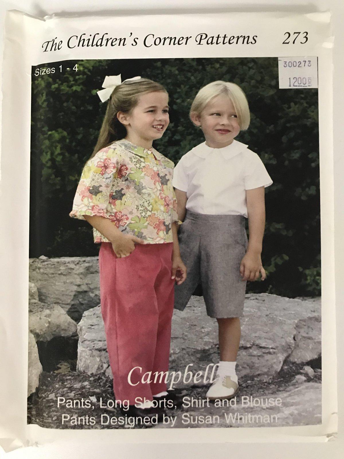 CHILDREN'S CORNER CAMPBELL