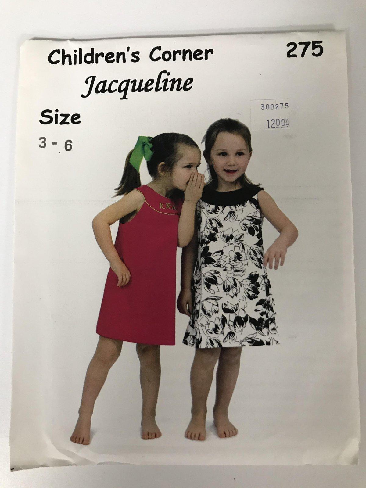 CHILDREN'S CORNER JAQUELINE