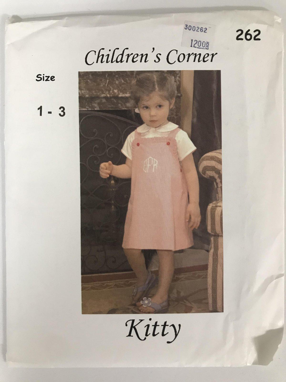 CHILDREN'S CORNER KITTY