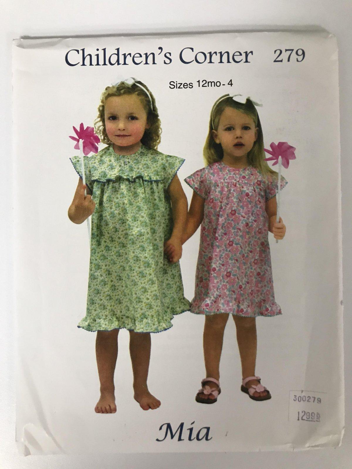 CHILDRENS'S CORNER MIA