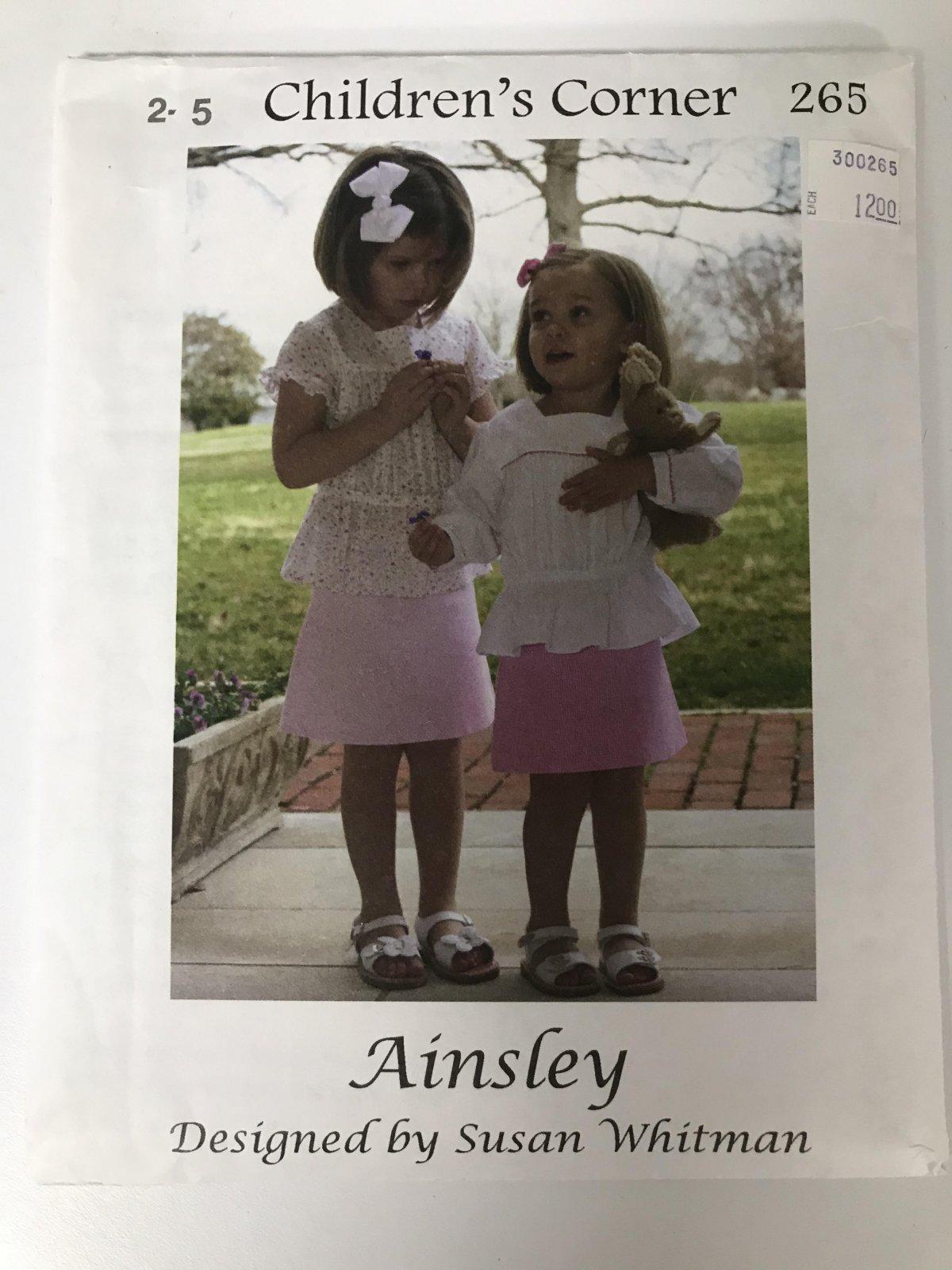 CHILDREN'S CORNER AINSLEY
