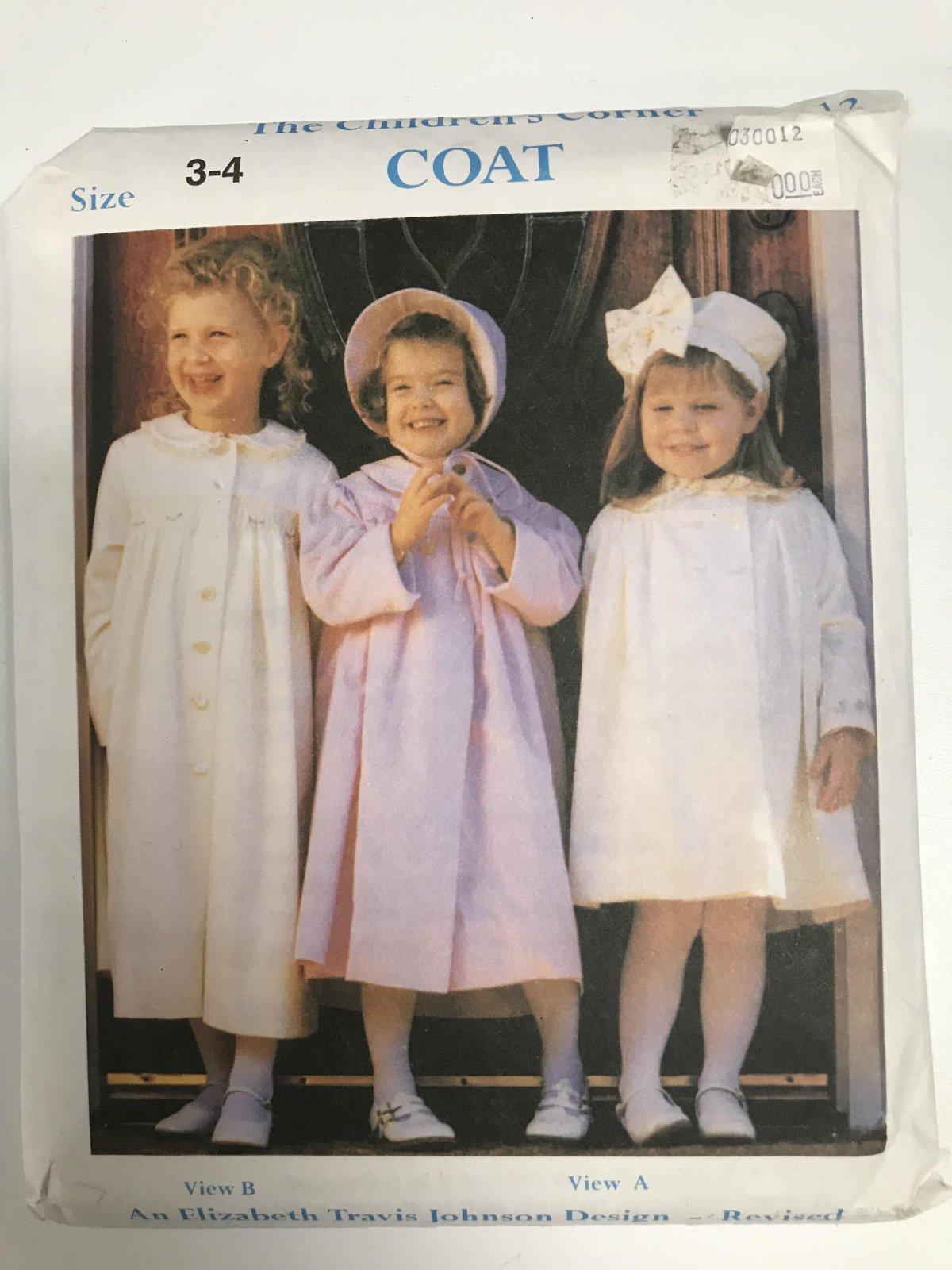 CHILDREN'S CORNER COAT
