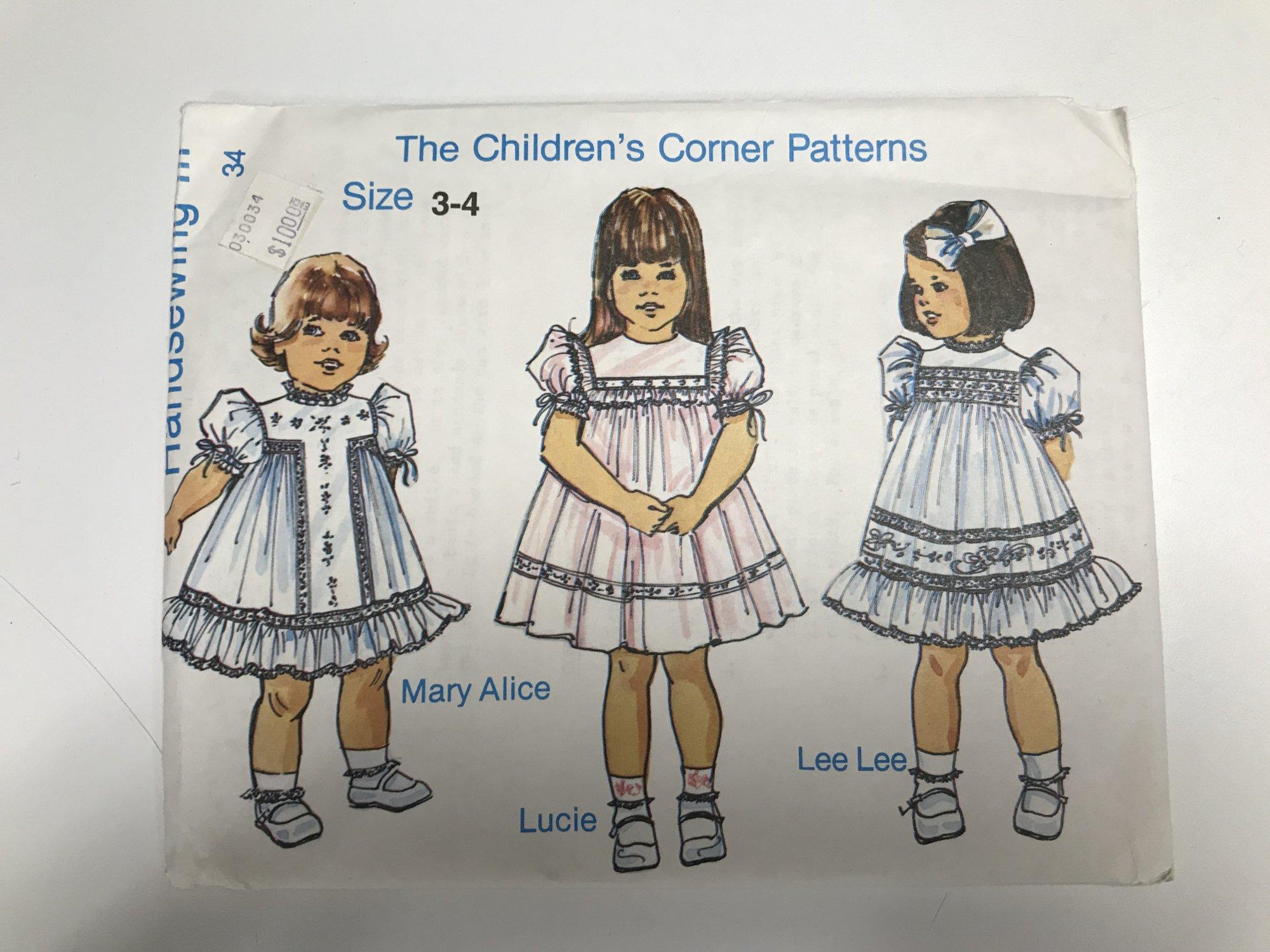 CHILDREN'S CORNER HANDSEWING III