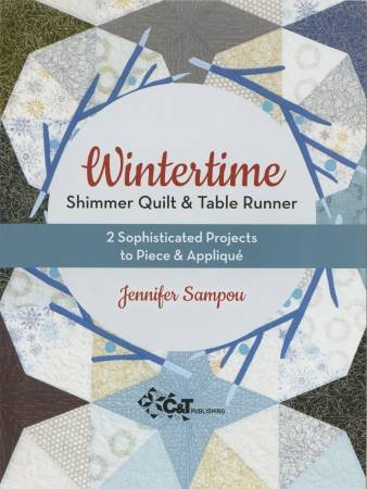 Wintertime Shimmer Quilt & Table Runner