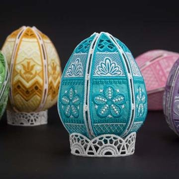Freestanding Easter Eggs 2 Embroidery CD
