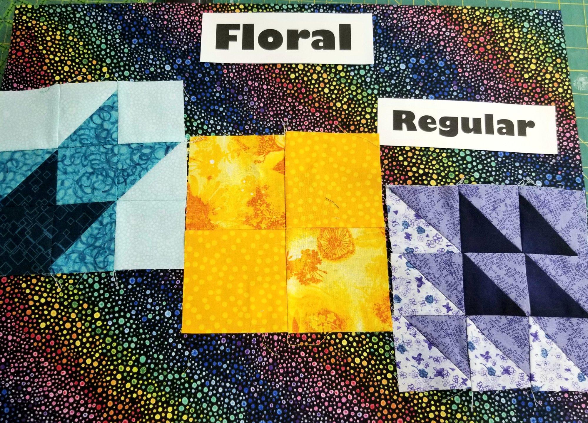July Floral Regular