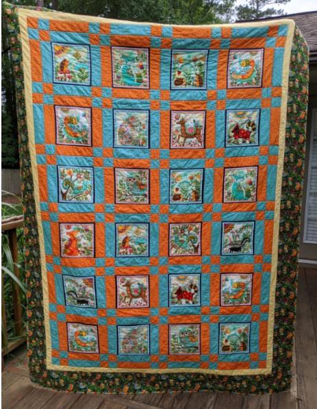 26 Baker's Animal Quilt