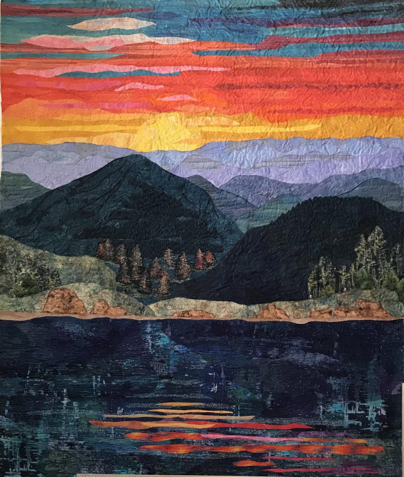 64. Mountain Sunset