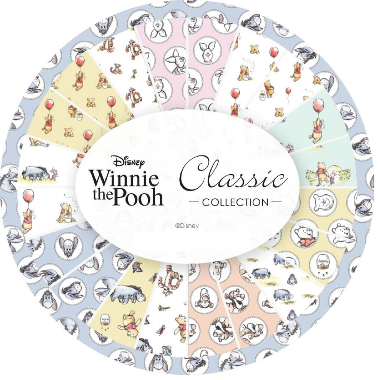 Winnie the Pooh Classic by Camelot Fabrics