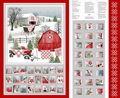 Holiday Heartland Advent Calendar Panel
