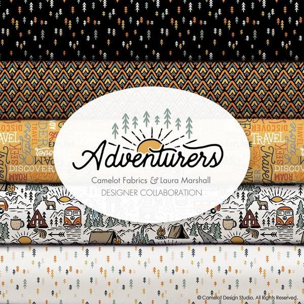 Adventurers by Camelot Fabrics