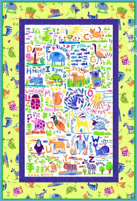 Animal Magic quilt kit