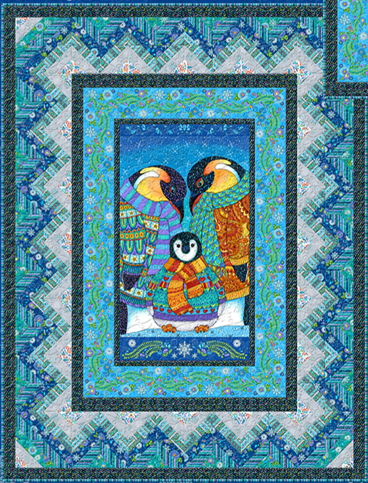 Arctic Wonderland quilt kit