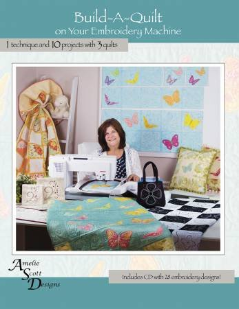 Build A Quilt on Your Embroidery Machine