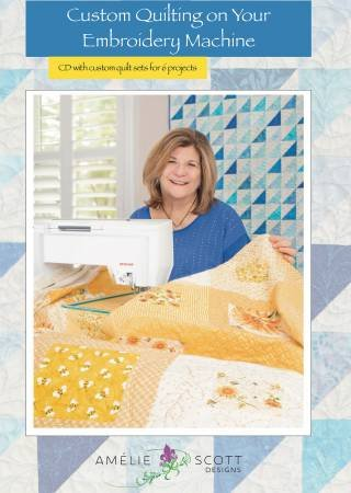 Custom Quilting on Your Embroidery Machine Book