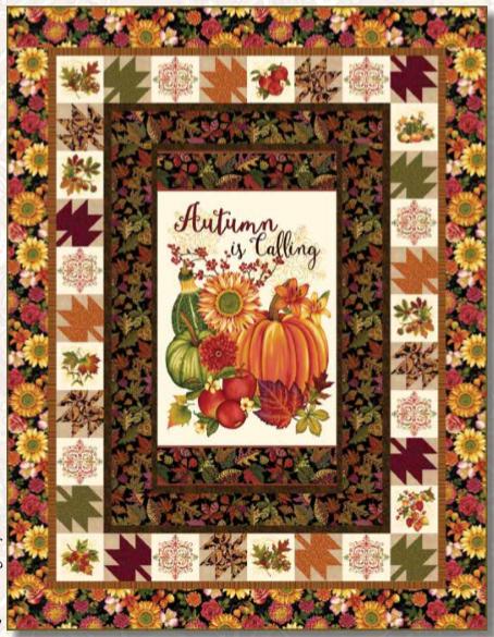 Autumn is Calling Quilt Kit 1