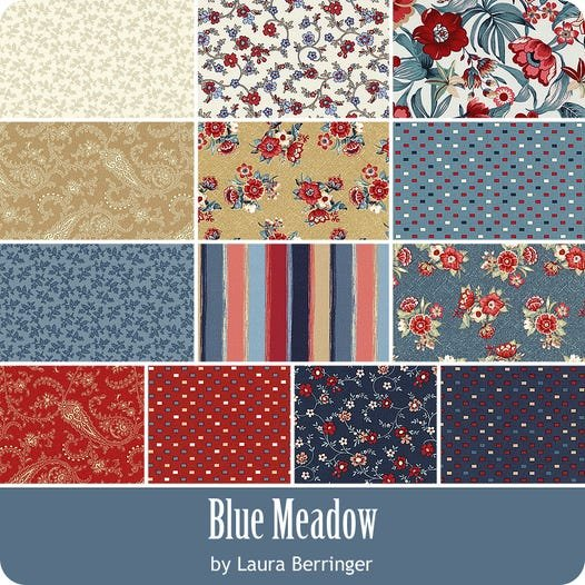 Blue Meadow by Marcus Fabrics