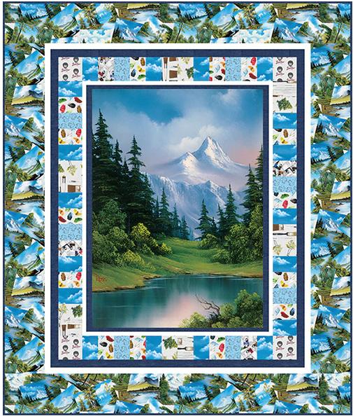 Joy of Painting quilt kit