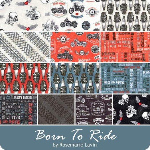 Born to Ride by Windham Fabrics