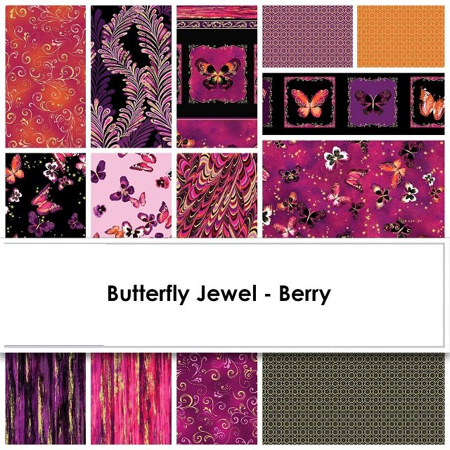 Butterfly Jewel by Kanvas (Two colorways available)