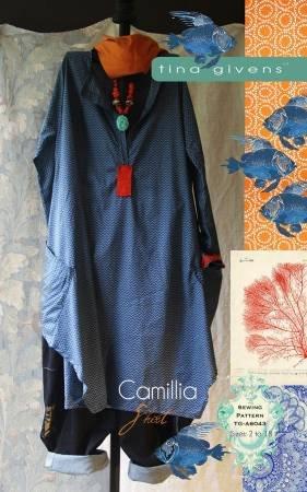 Camillia Shirt Pattern