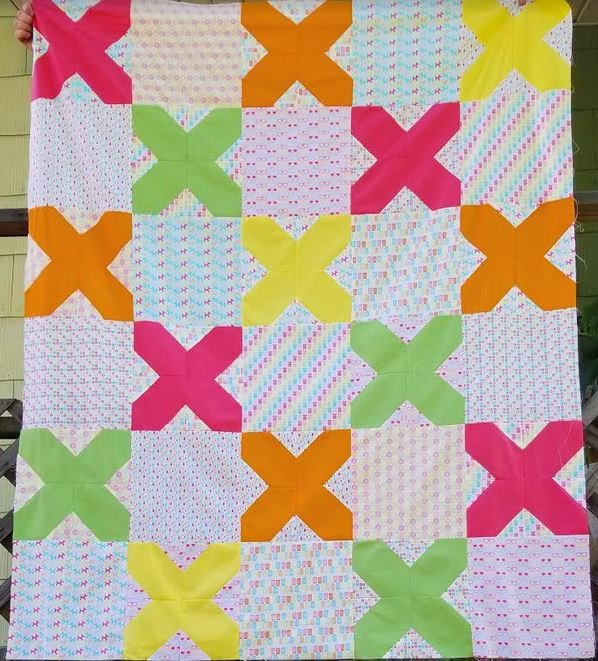 Cross Stitched Quilt Kit