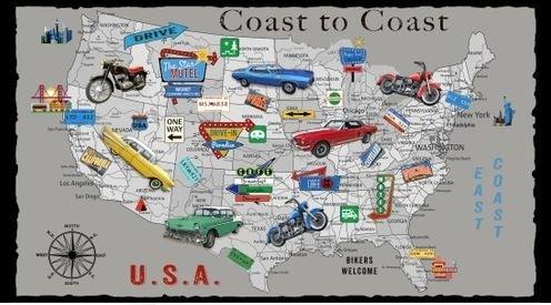 Coast to Coast Panel by Blank