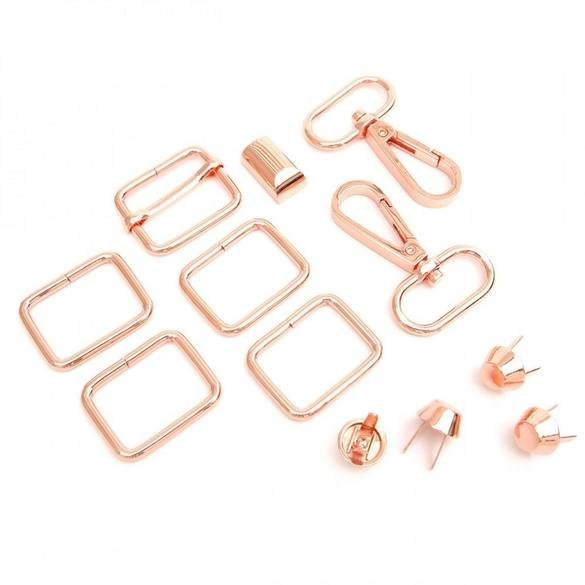 Daphne Handbag Hardware in Copper