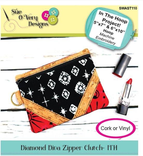 Diamond Diva Clutch Embroidery CD