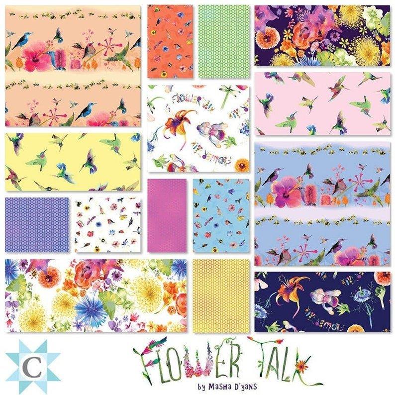 Flower Talk by Clothworks